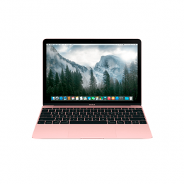 "MacBook 12"" Doble Núcleo 1.2Ghz (Rose Gold) P/N MNYM2CI/A"