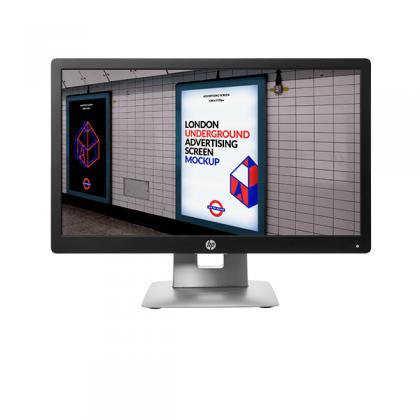 "Monitor HP EliteDisplay E202 de 20"" LED HD+ P/N M1F41AA#ABA"