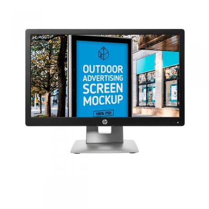 """Monitor HP EliteDisplay E222 de 21.5"""" LED FHD P/N M1N96AA#ABA"""