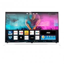 "Televisor Smart AOC de 65"" LED 4K Ultra HD P/N LE65U7970"
